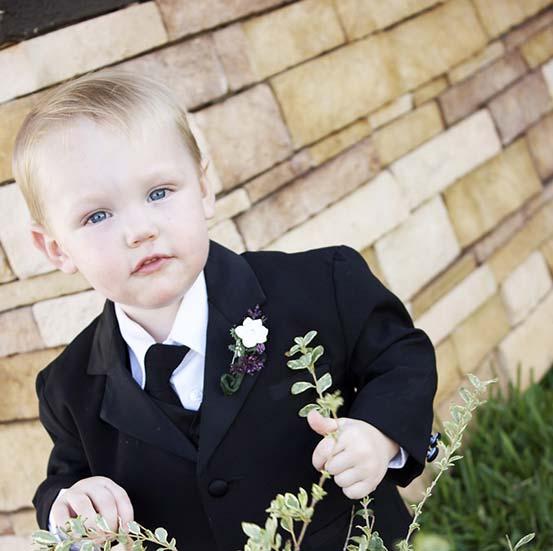 Menus enfant mariage